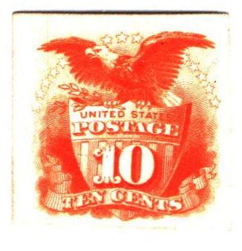 1869 10c yellow