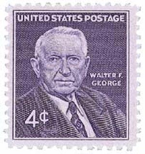 1960 4c Senator Walter F. George