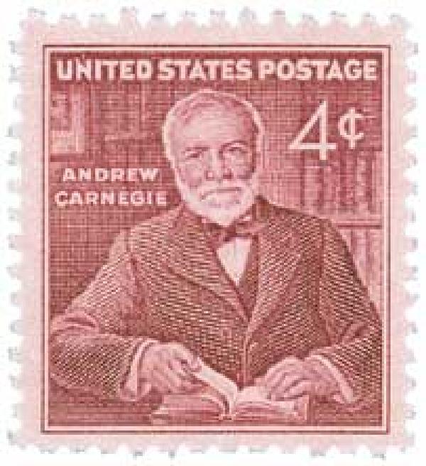 1960 4c Andrew Carnegie