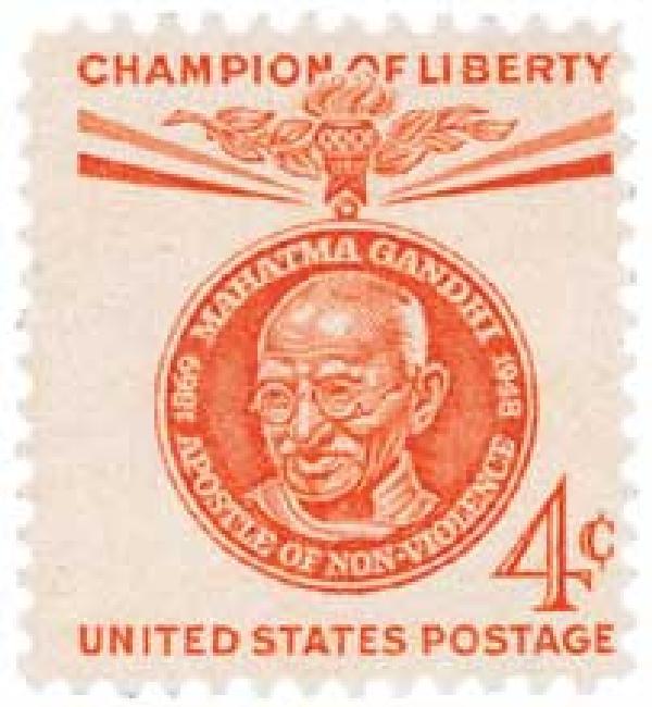 1961 4c Champions of Liberty: Mahatma Gandhi