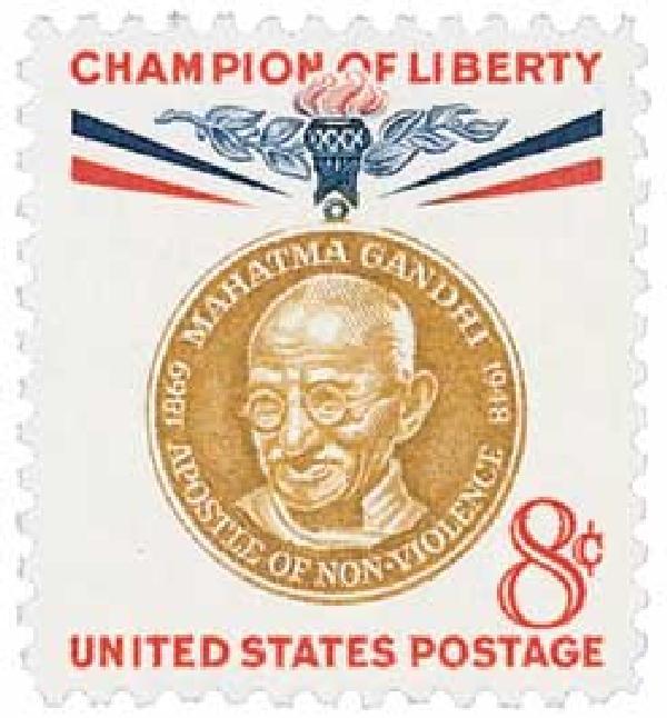 1961 8c Champions of Liberty: Mahatma Gandhi
