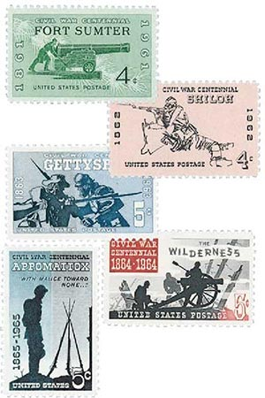 Complete Set,  1961-65 Civil War Centennial Series
