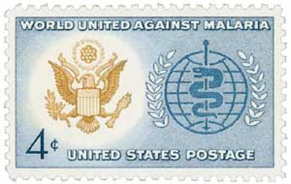 1962 4c Malaria Eradication
