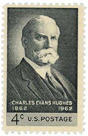 1962 4c Charles Evans Hughes