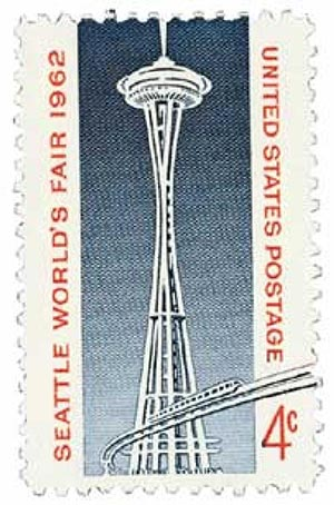 1962 4c Seattle Worlds Fair