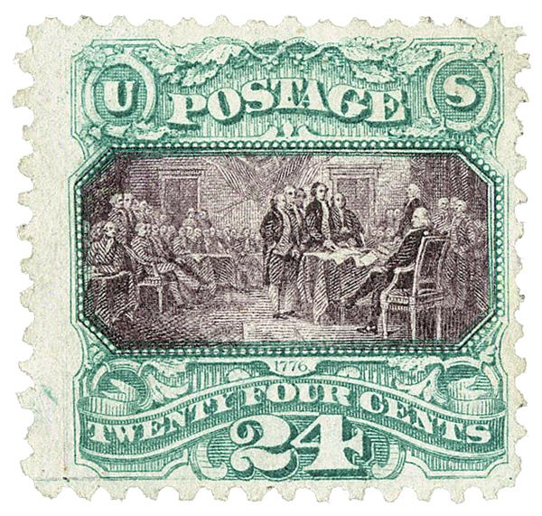 1869 24c Declaration of Independence
