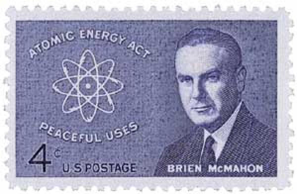 1962 4c Senator Brien McMahon