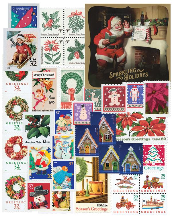 1962-2019 Contemporary Christmas, complete set of 253 stamps