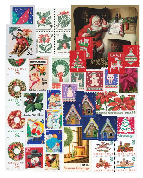 1962-2020 Contemporary Christmas, complete set of 257 stamps