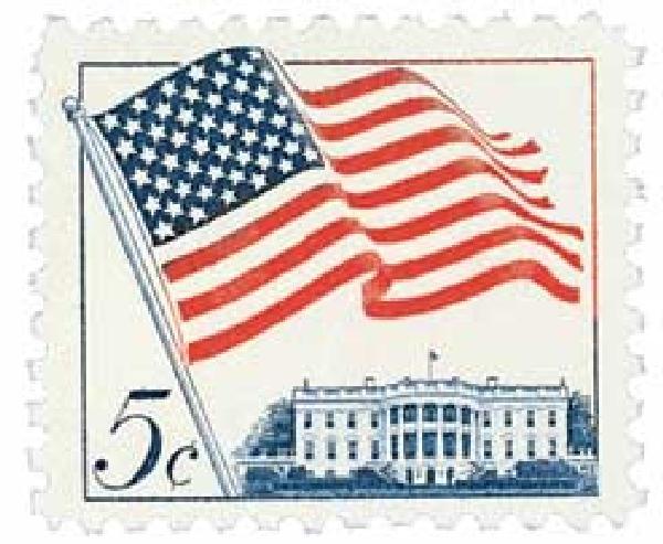 1963 5c 50-Star U.S. Flag