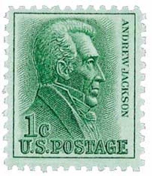 1963 1c Andrew Jackson
