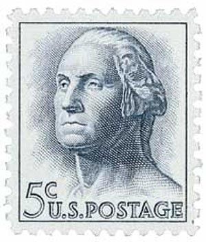 1962 George Washington stamp