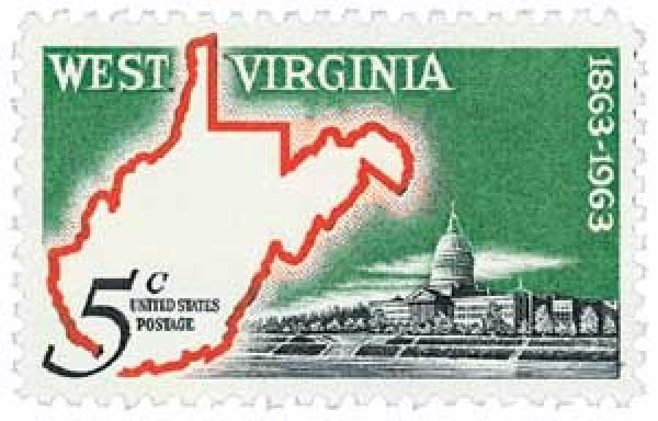 1963 5c West Virginia Statehood