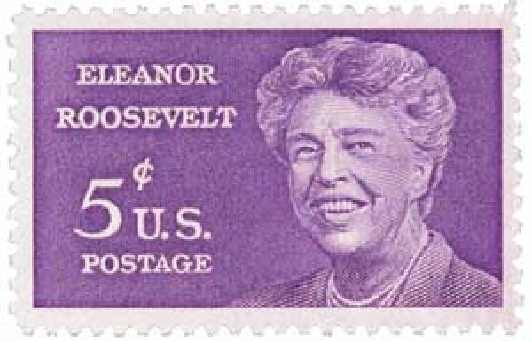 U.S. #1236 was issued less than a year after Eleanor's death.