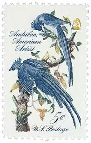 1963 5c John James Audubon