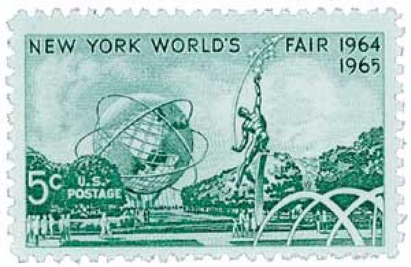 1964 5c New York Worlds Fair