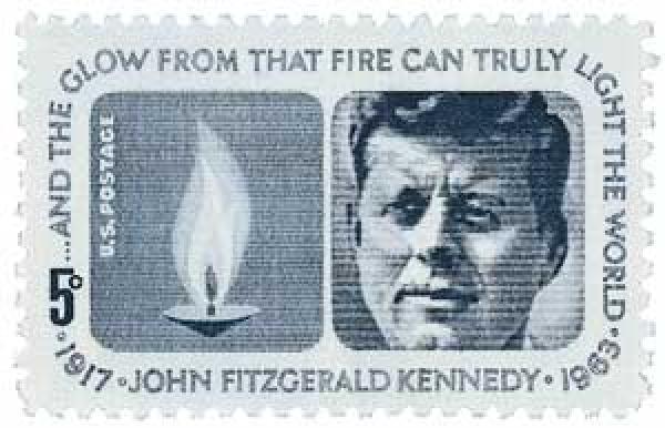 1964 5c Kennedy Memorial