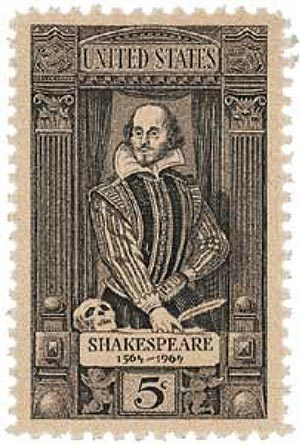 1964 5c William Shakespeare