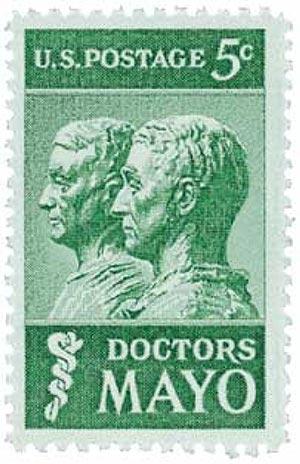 1964 5c Doctors Mayo