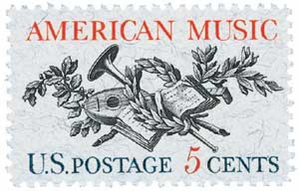 1964 5c American Music