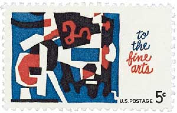 1964 5c Fine Arts