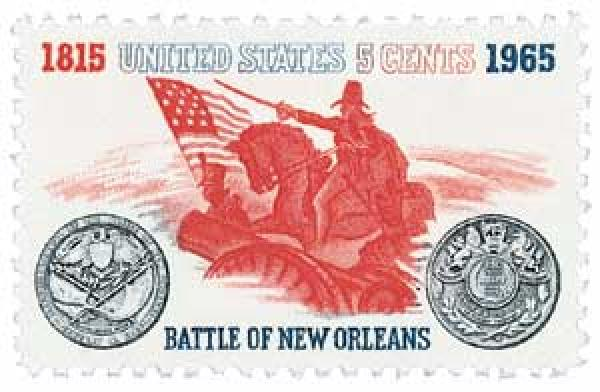 1965 5c Battle of New Orleans