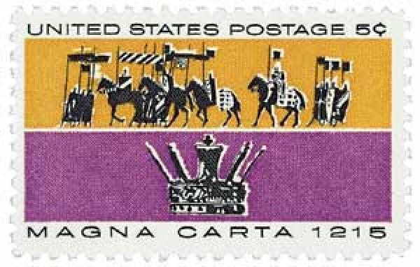 1965 5c Magna Carta