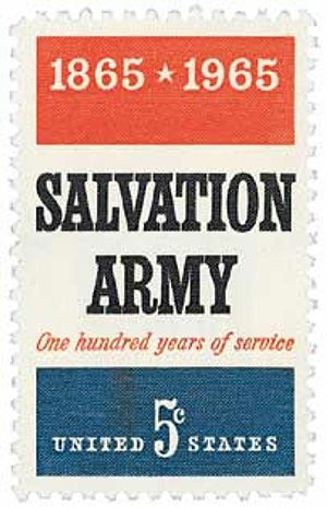 1965 5c Salvation Army