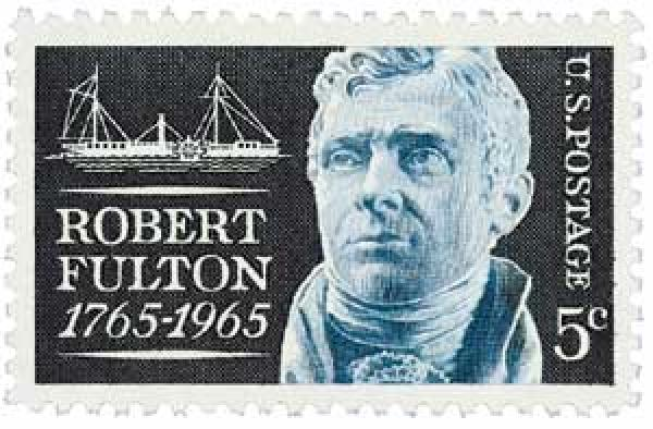 1965 5c Robert Fulton