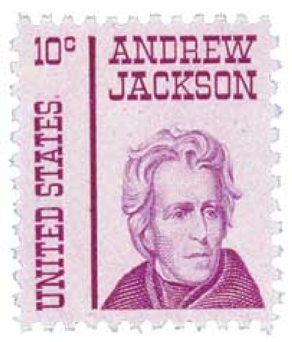 1967 10c Prominent Americans: Andrew Jackson