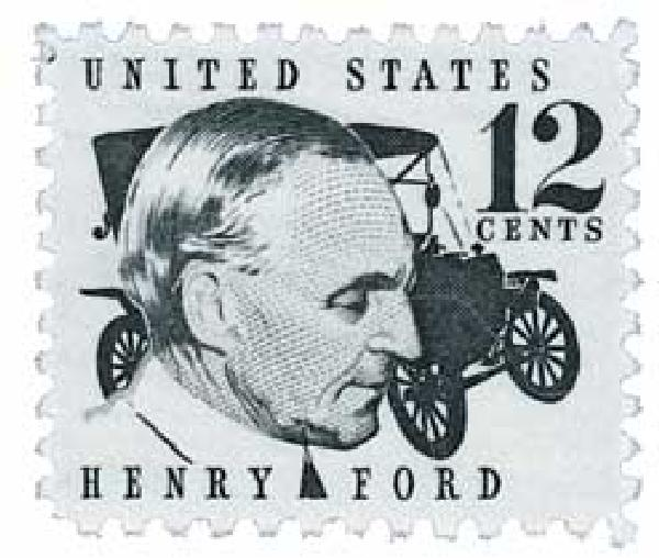 1968 12c Henry Ford
