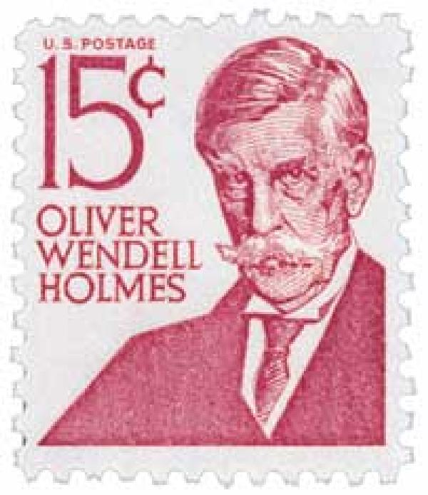 Image result for oliver wendell holmes stamp