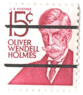 1965-78 15c Prominent American: Oliver Wendell Holmes - precancel