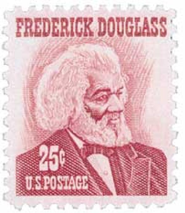 1967 25c Prominent Americans: Frederick Douglass