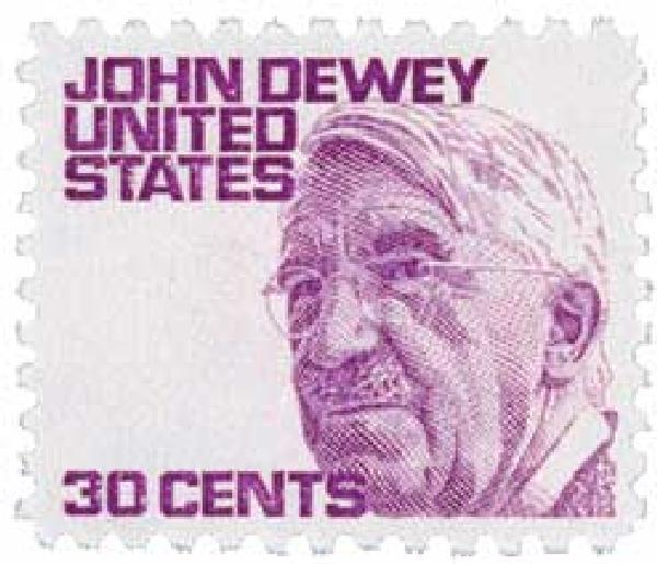 1968 30c Prominent Americans: John Dewey