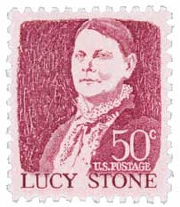 1968 50c Prominent Americans: Lucy Stone