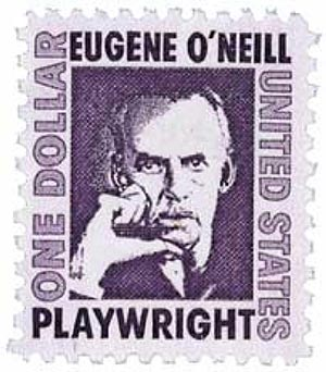 1967 $1 Prominent Americans: Eugene ONeill