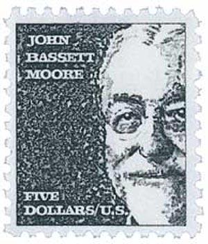 1966 $5 Prominent Americans: John Bassett Moore