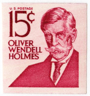 1978 15c Oliver W. Holmes Perf 10V