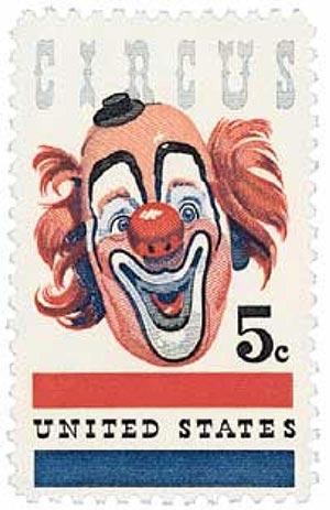 1966 5c American Circus
