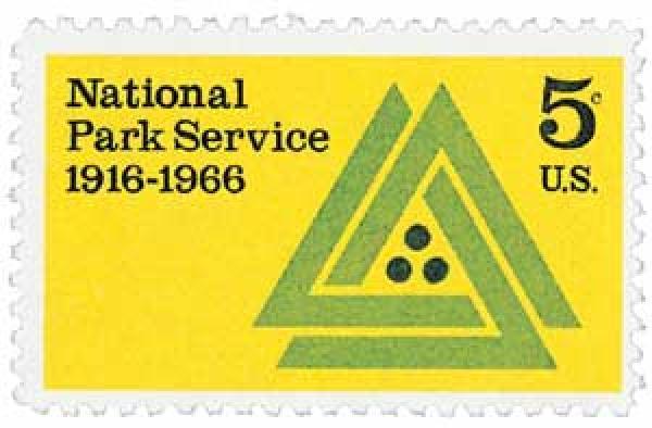 1966 5c National Park Service