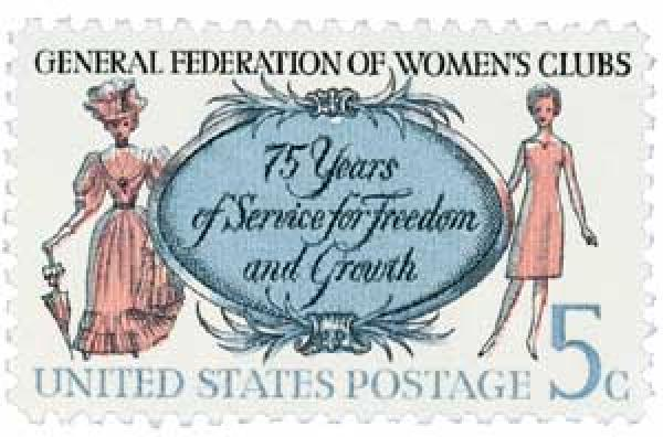 1966 5c General Federation of Womens Clubs