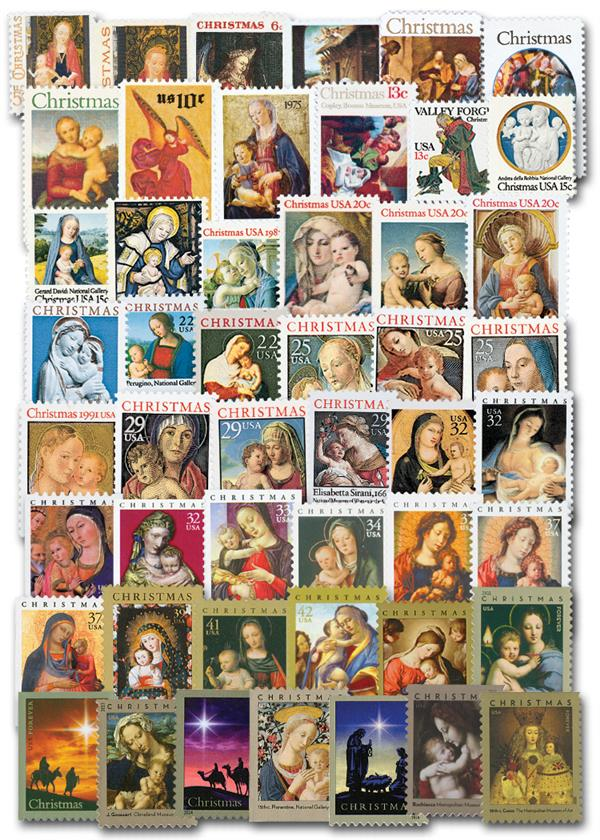 Complete Set of 49, 1966-2020 Traditional Christmas Series