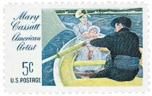 1966 5c Mary Cassatt