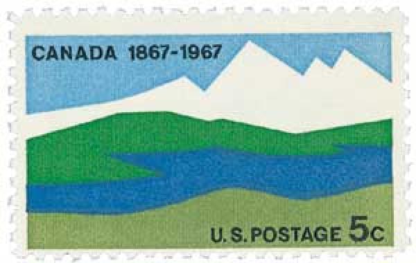 1967 5c Canada Centenary
