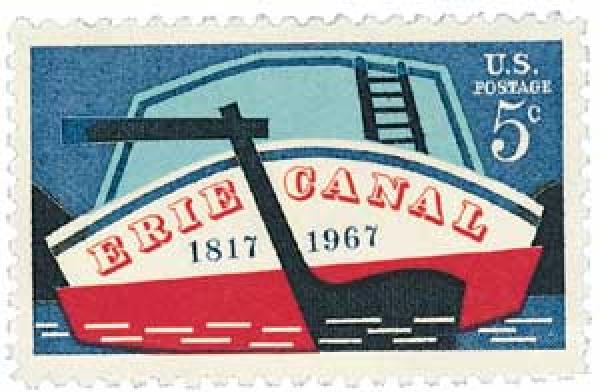 1967 5c Erie Canal