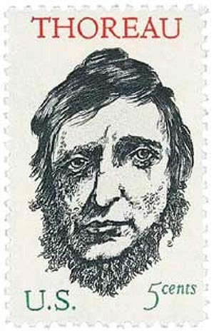1967 5c Henry David Thoreau For Sale At Mystic Stamp Company