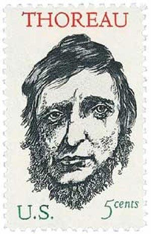 1967 5c Henry David Thoreau