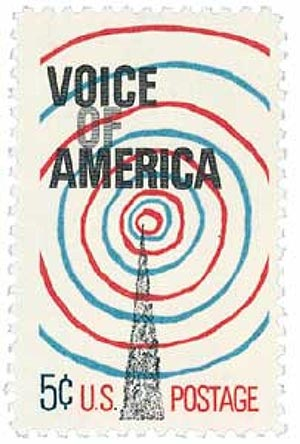 1967 5c Voice Of America For Sale At Mystic Stamp Company