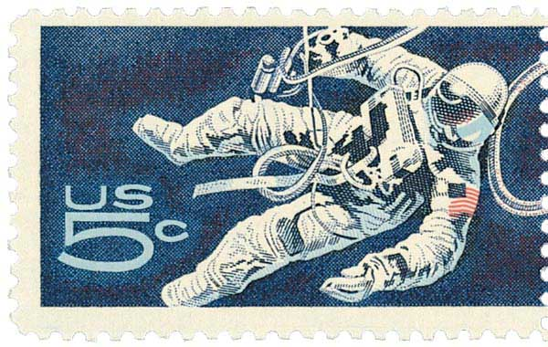 1967 5c Space Accomplishments Astronaut